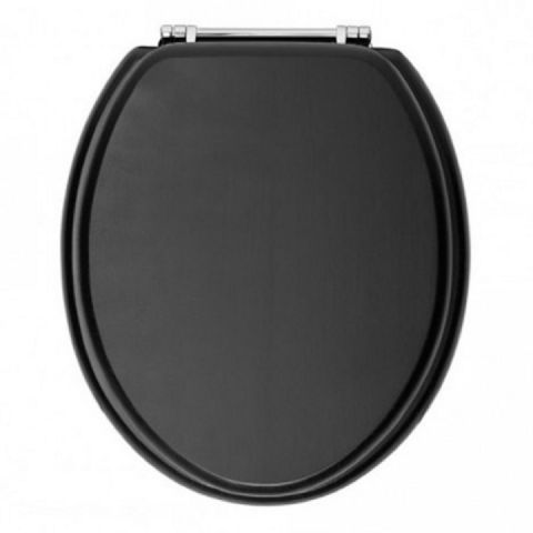 Matt Black Toilet Seat